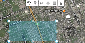 rectangular-geofence